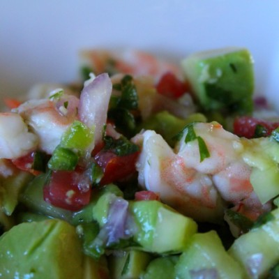 15 Minute Easy Shrimp Ceviche