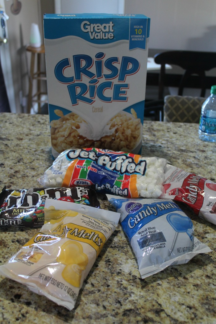 ingredients for lego rice krispies
