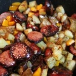 skillet keilbasa hash featured