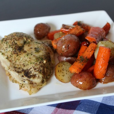 Sheet Pan Dinners are the New Twist on Cooking – Here's My One Pan Ranch Chicken and Veggies