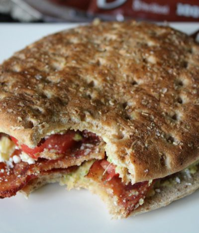 Mediterranean Chicken Bacon Sandwich
