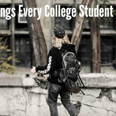 10 Things Every College Student Needs