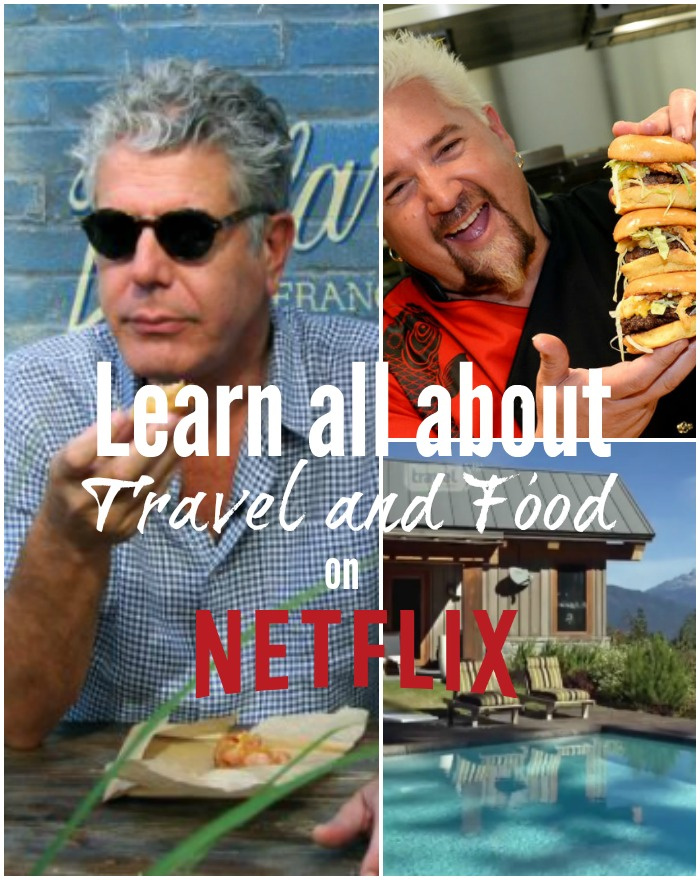 Netflix food and travel learning