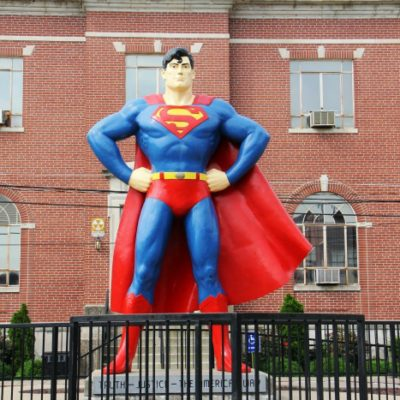 Visiting Metropolis IL – Home of Superman