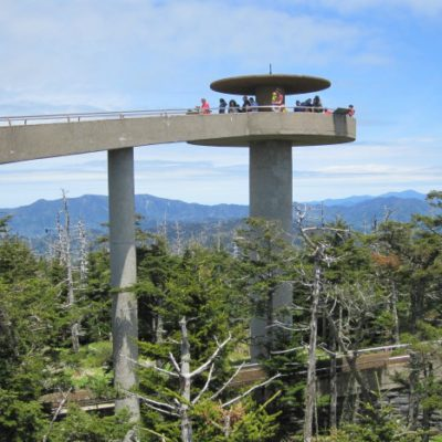 Clingman's Dome and the Beauty of the Smoky Mountains in Gatlinburg, TN