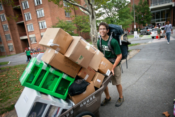 College Move In Day
