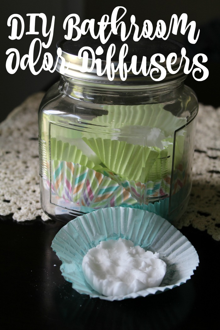 DIY Bathroom Odor Diffusers
