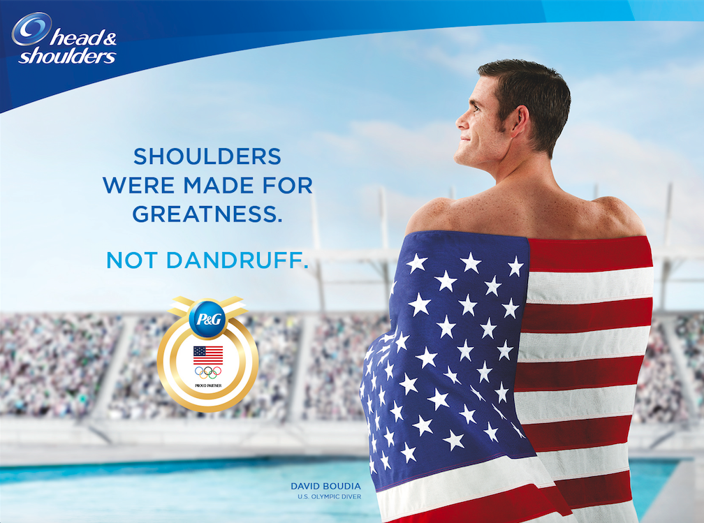 David Boudia head and shoulders
