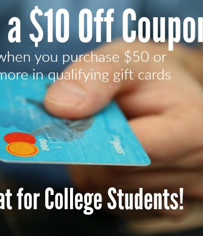 Send Your College Student Off With These Amazing Gift Cards + $100 Amazon Gift Card Giveaway #FoodLionBTS16