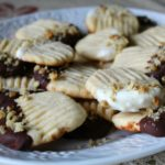 chocolate-tipped-butter-cookies-featured