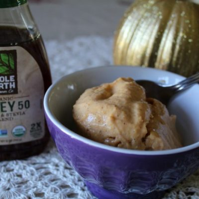 Pumpkin Pie Frozen Yogurt