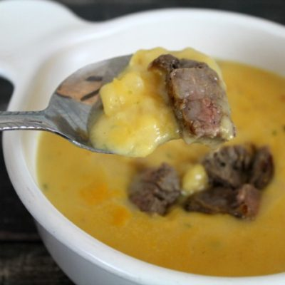 Ultimate Steakhouse Baked Potato Soup