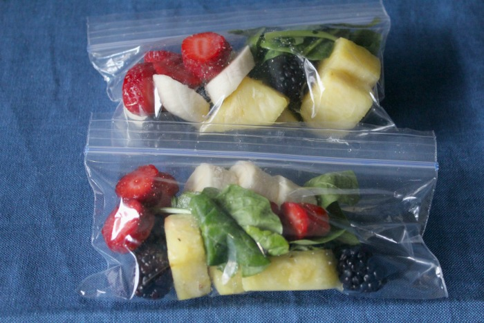 How to Make Your Own Smoothie Packs