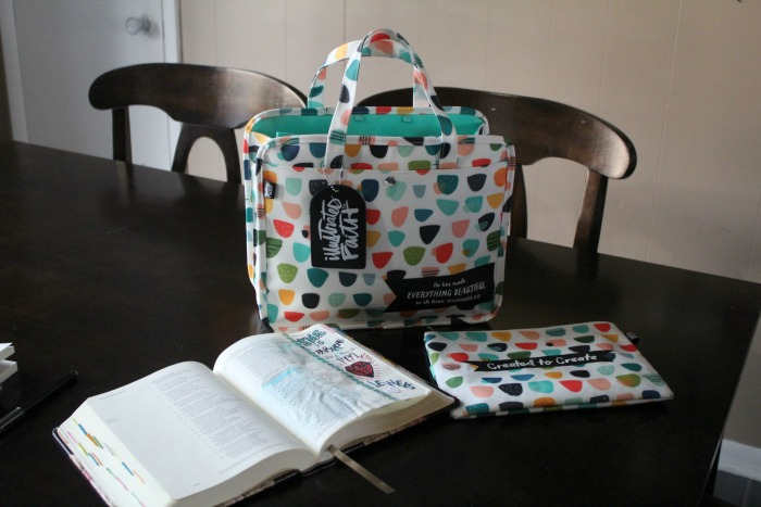 How to Organize Your Journaling Supplies (plus new items from Illustrated Faith)
