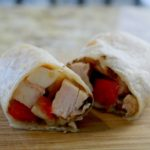 CHicken Caprese Wraps Featured
