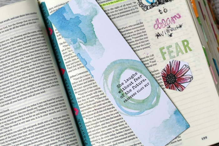 free to flourish bookmark