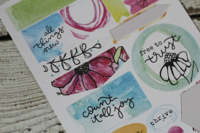free to flourish kit contents 1