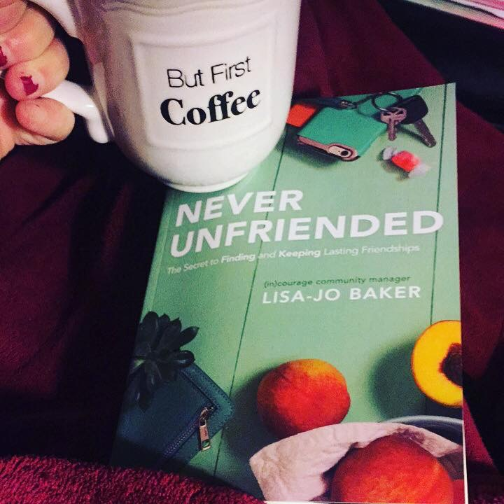 What to Do When You are Hurt By a Friend {+ a Look at Lisa Jo Baker's New Book Never Unfriended}