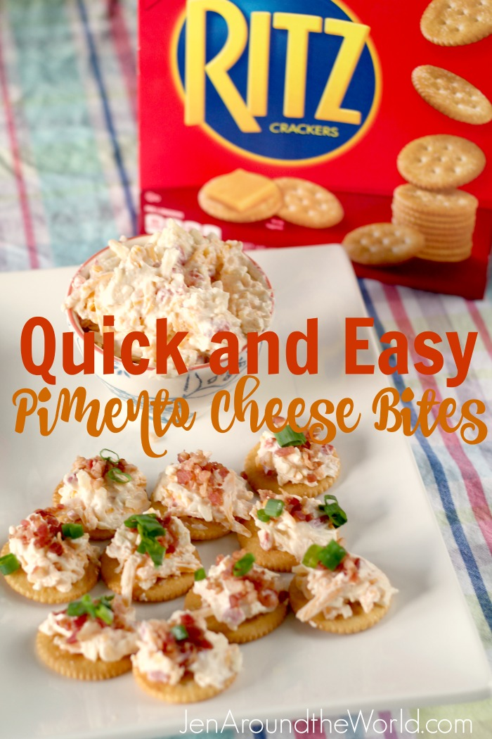 Quick and Easy Pimento Cheese Bites Hero