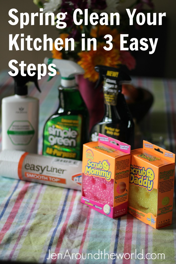 Spring Clean Your Kitchen in 3 Easy Steps