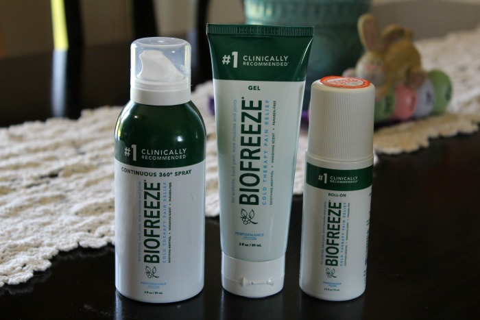 biofreeze and yoga 1
