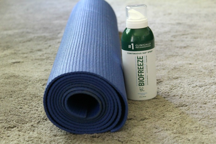 How Biofreeze® Helps Me Enjoy My Yoga More