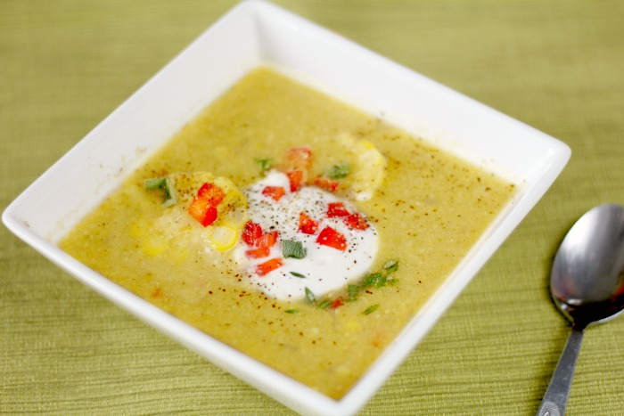 Sweet Corn Chowder – My New Favorite Soup
