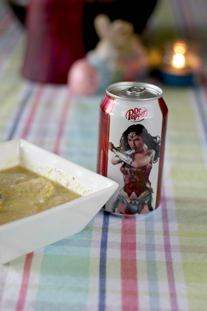 Dr Pepper Wonder Woman hero image
