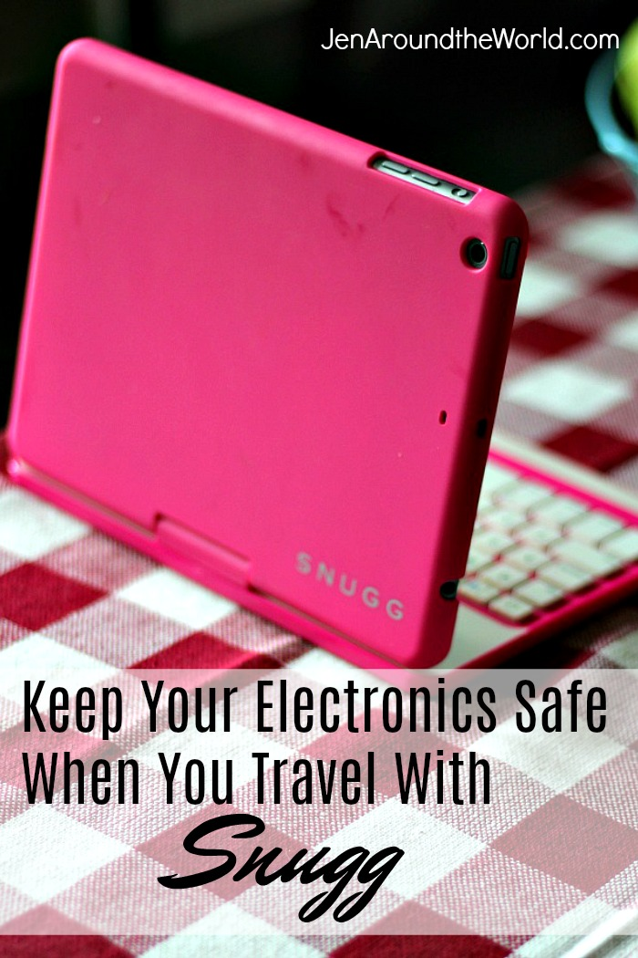 keep your electronics safe when you travel with snugg