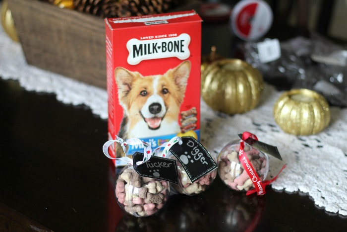 Personalized Santa Pup Ornaments for Christmas