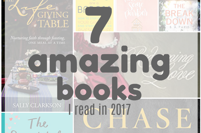The Seven Best Books I Read in 2017