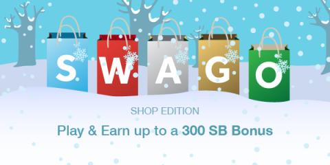 Swago: Holiday Shopping Edition Is Back! (US) (Shop your way to a 300 SB Bonus this month)