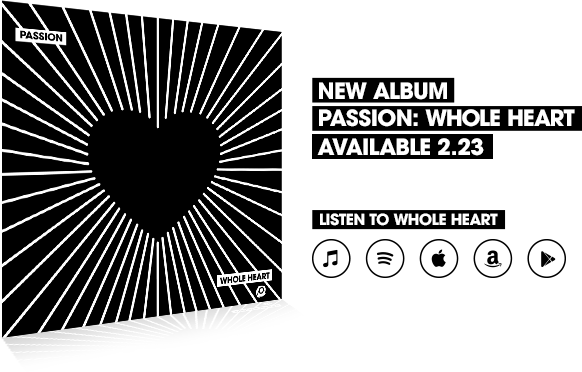 Passion Whole Heart Album (plus a fun giveaway!)