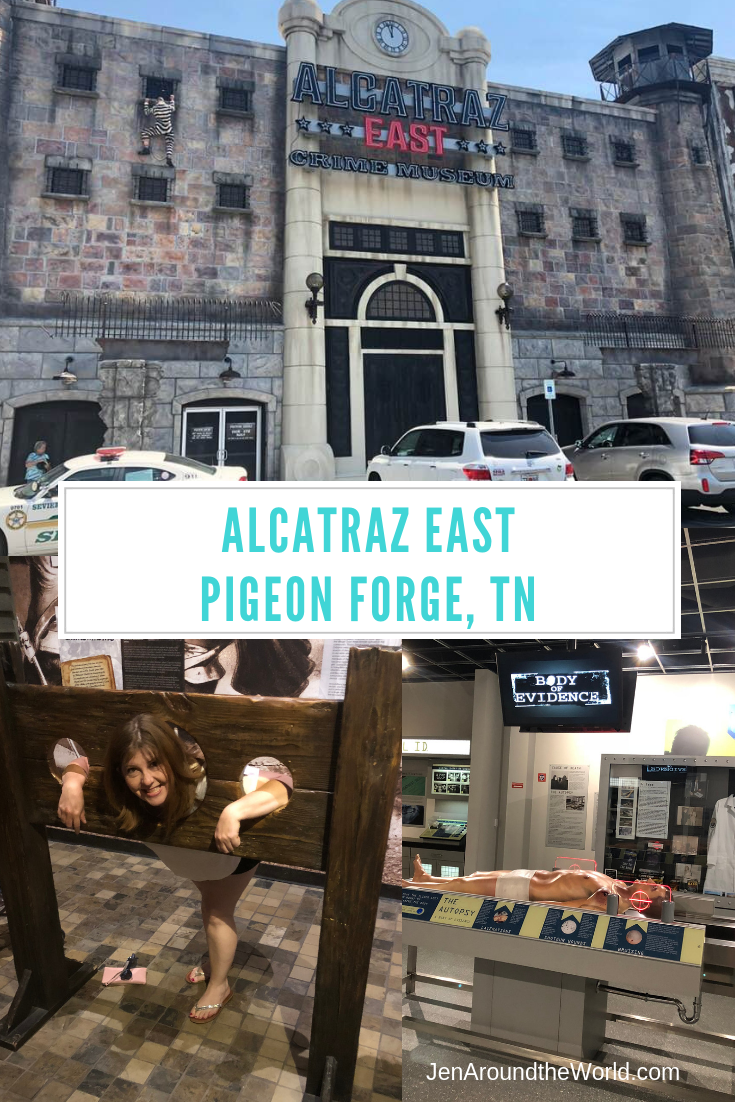 Alcatraz East- A Top Attraction in Pigeon Forge, TN