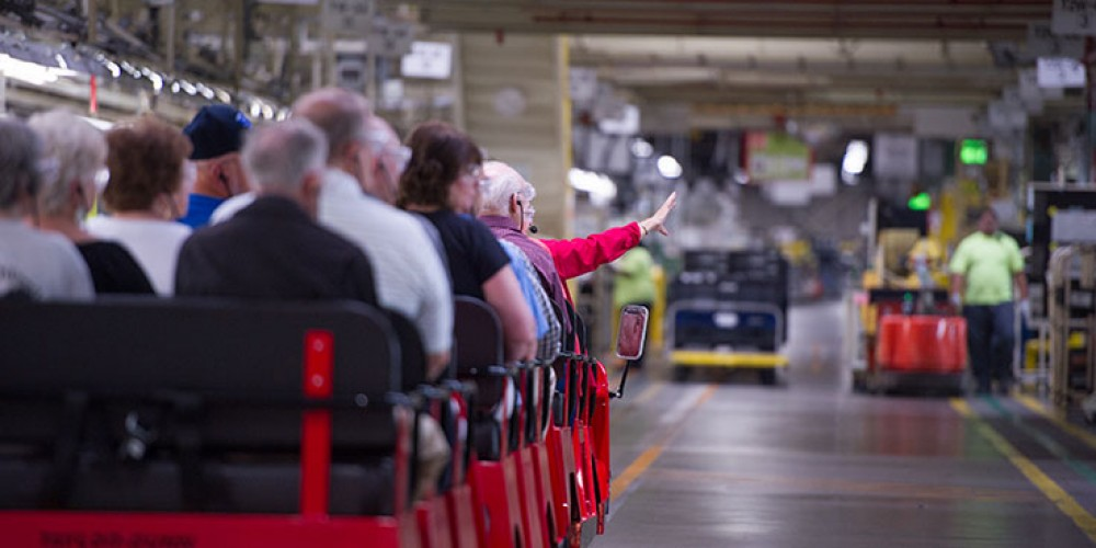 Toyota Motor Manufacturing, Kentucky, Inc – One of the Most Amazing Tours You Will Ever See
